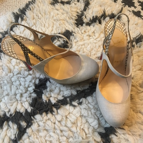 aeb2d1259d91 Christian Louboutin Shoes - Rare! Christian Louboutin heels