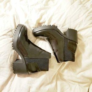 Zara Platform Booties