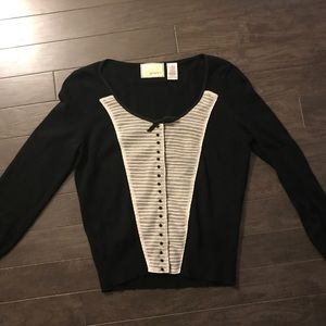 Anthropologie Guinevere Snap Button Cardigan