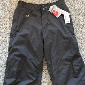 Women's medium gray ski pants/snowboarding pants