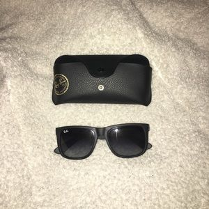Black Justin Classic Ray-ban Sunglasses
