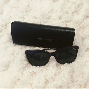 Plum Burberry Sunglasses