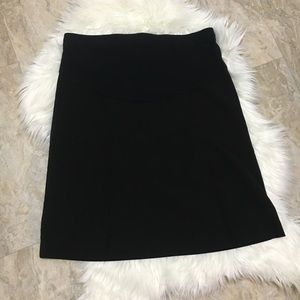 Motherhood Maternity Black Career Skirt