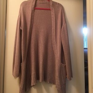 Pink oversized sweater from Nordstrom