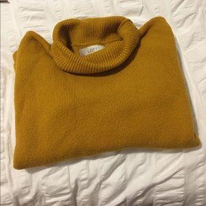 Oversized Turtleneck Sweater - Loft