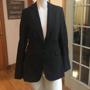Grey Express Women's one button blazer size 6