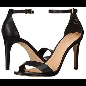 Aldo black strappy high heel