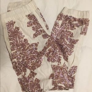 NWT J.Crew seaside sequin pant