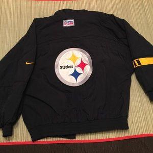 Vintage Nike Steelers windbreaker jacket youth L