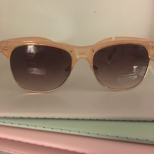 New pale pink sunglasses