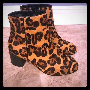 Urban outfitters leopard print booties!