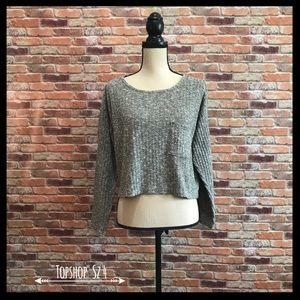 Topshop Slouchy Pocket Top