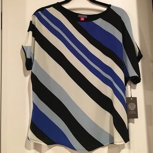 NWT Vince Camuto striped top