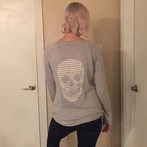 Skull Cashmere light sweater