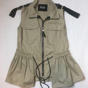 Dolce & Gabana Utility Vest Top