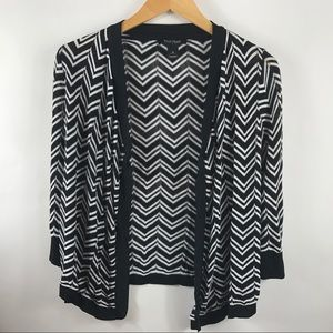 White House Black Market cardigan open front