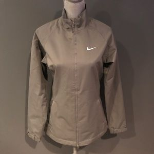 Nike Golf Storm Fit Long Jacket Olive Moss Green