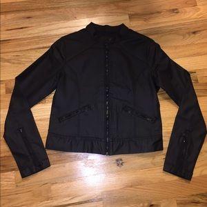 Black Matte Leather Jacket
