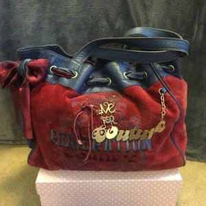 Red Juicy Couture Purse