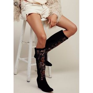 New Free People Penney Lane tall boots 38