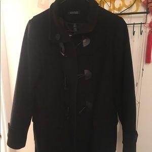 Black winter coat Ralph Lauren