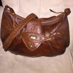 COLE HAAN LARGE LEATHER BAG
