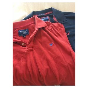2 American Eagle Polo Shirts