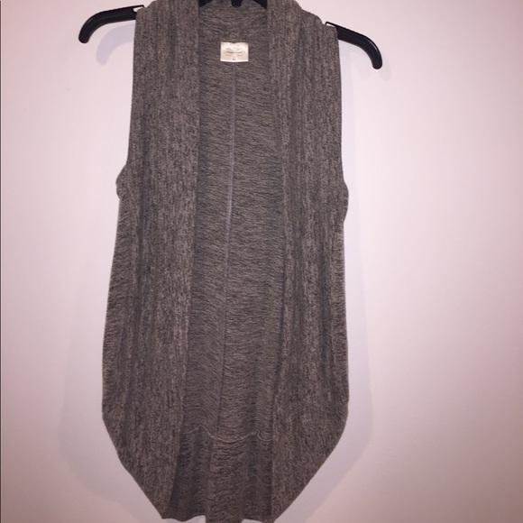 77% off pretty good Sweaters - Tan shrug sweater vest from Kiki's ...
