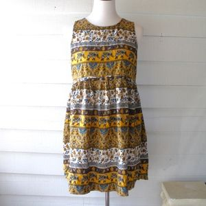Forever 21 Elephant Oversize Dress Medium Large