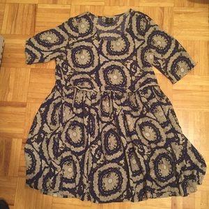 [Passion Fusion] Short Sleeve Pattern Dress!