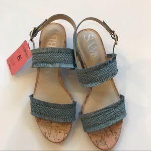 🆕 SAM & LIBBY Low Heeled Sandal. Style: IVETTE