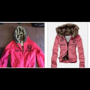 Abercrombie and fitch heavy zip up