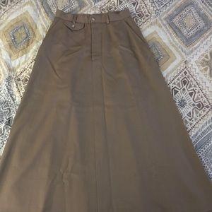 Vintage Ralph Lauren Equestrian Style Skirt 10