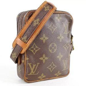Auth VINTAGE Louis Vuitton mini danube crossbody