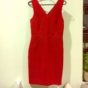 Red dress from banana republic, never worn