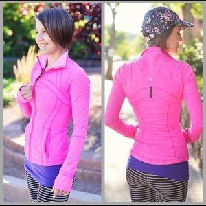 Lululemon heathered Paris define pink jacket