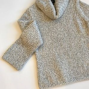 EXPRESS Over-Sized Sweater with Turtle Neck