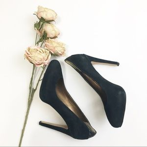 Sam Edelman Yasmine Black Platform Heels