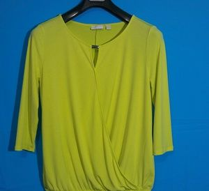 New York & Company Tops - New York Company  Long Sleve Blouse Size L