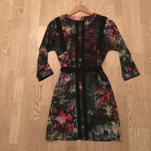 Ted Baker Printed Dress