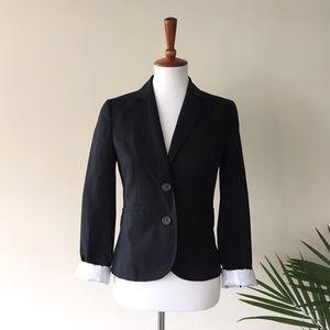 J. Crew Wool Black Blazer - Size 2