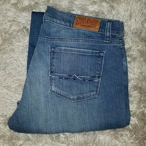 Lucky Brand Woman Jeans