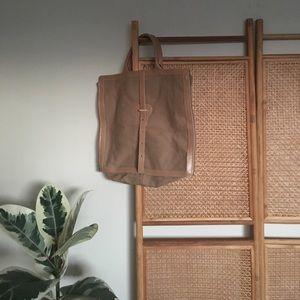 Handbags - Vintage Tan American Made Laptop Bag