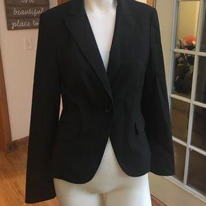 Express Black pinstripe blazer size 6