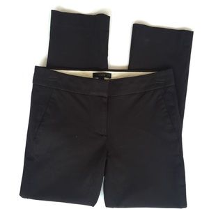 J. Crew Black Cropped Campbell Strecht Pants