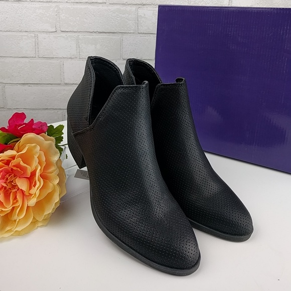 Nwt Madden Girl Heather Black Ankle