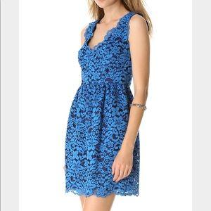 Shoshanna Sierra Blue Dress Size 6