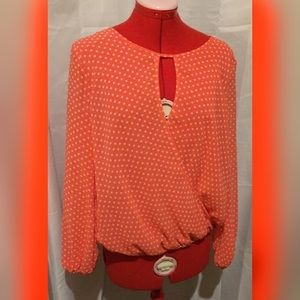 Vince Camuto Polk a Dot Top