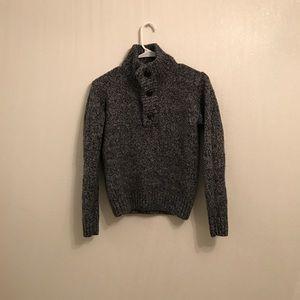 H&M L.O.G.G. Gray Wool Blend Sweater Size Medium