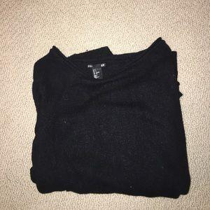 H&M Basic Black Sweater (S)